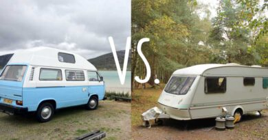 Camper of caravan