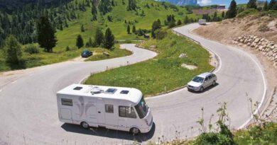 Waar op te letten als je met een camper rijdt.