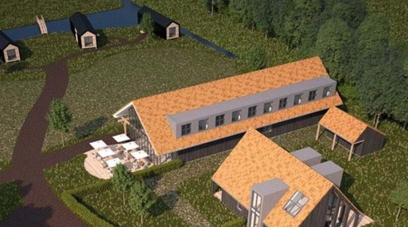 Nieuwe camperplaats in het Friese Oudega.