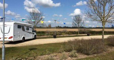 Nieuwe camperplaats in Brummen.