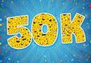 50.000 ste bezoeker.